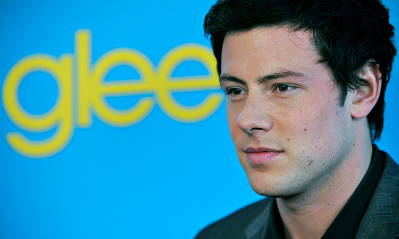 "Cory Monteith, arrives at the ""Glee"" Spring Premiere Soiree in Los Angeles. — AP Photo"