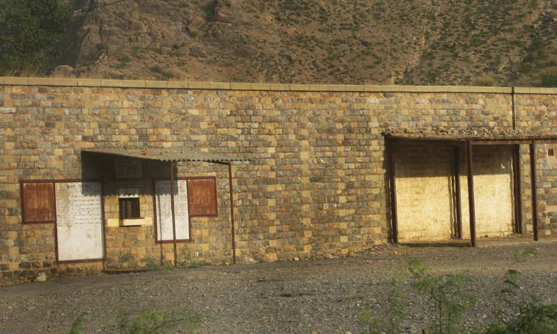 Landi Kotal's abandoned railway station. — Photos provided by author.