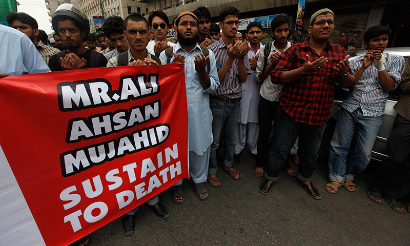 Ahsan Ali Mohammad was handed the death penalty for war crimes. — Reuters