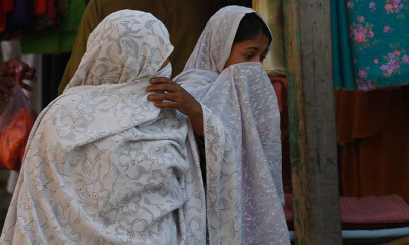 The clerics committee also requested local shopkeepers not to sell goods to women who are shopping alone in bazaars.   — File Photo by AP