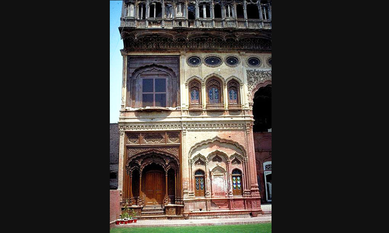 A view of the Umer Hayat Palace in Chiniot . -Archive Images.