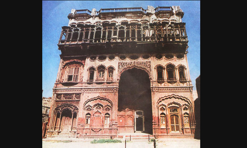 The Umer Hayat Mahal in 2006.  -Archive Images