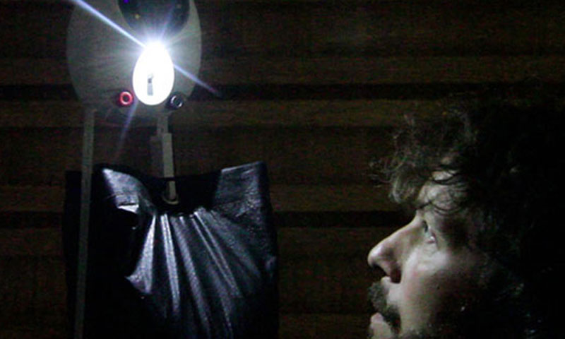 GravityLight will be mass-produced  next year. – Photo courtesy Indiegogo