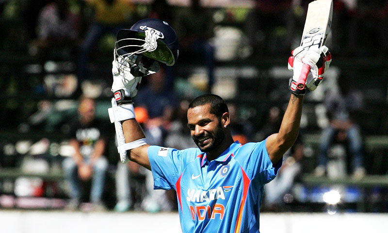 Dhawan has picked up an untimely injury. — AFP/File