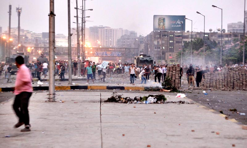 Well over 200 people have died in violence since the overthrow of Morsi, including at least nine on Friday. — Reuters Photo