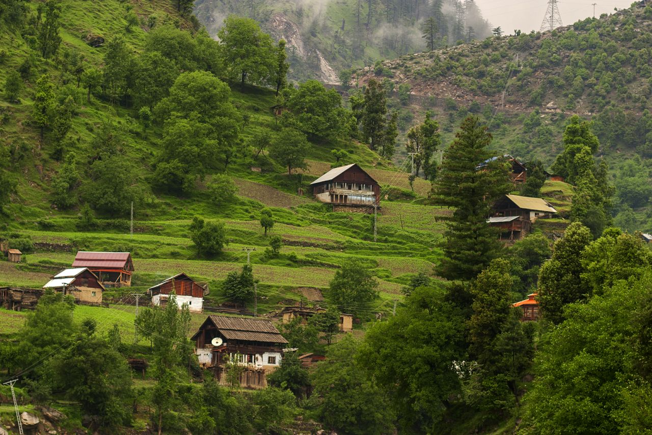 "In the lower part of Neelum valley, lays the picturesque ""Jagran"" which is the central attraction of witnessing landscape beauty in the area of Azad Kashmir."