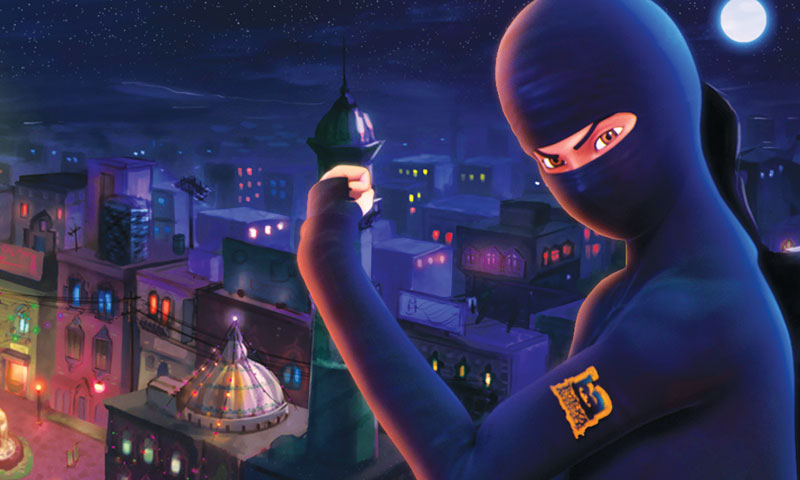 Burqa Avenger.