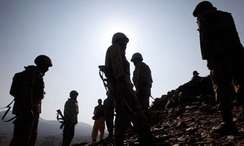 14, including three security officers, killed in Mach