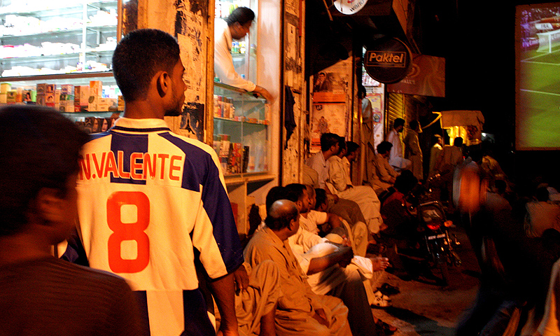 Lyari has overcome a notorious reputation for gang violence that has killed hundreds of people over the past 15 years and miserable facilities to produce the country's best football players. -Photo by Hussain Afzal White Star