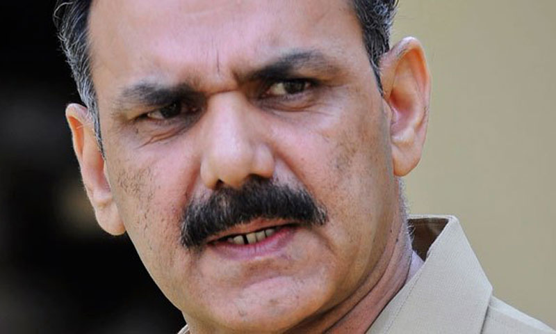 DG ISPR Major General Asim Saleem Bajwa.— Photo by Reuters/File