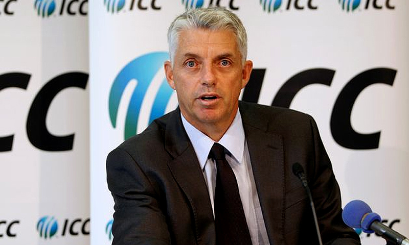 ICC chief executive David Richardson.