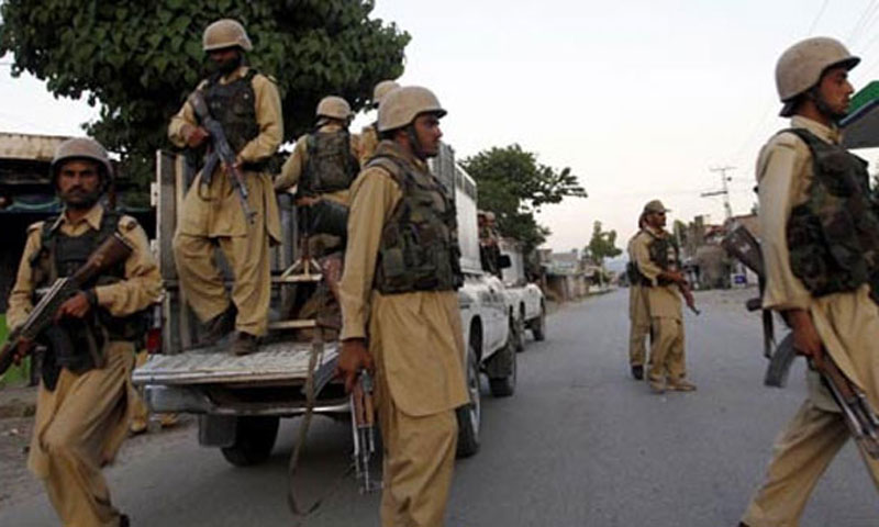 An official of the Frontier Corps, who did not wish to be named, told Dawn.com that security forces have launched an operation against militants near Dhadar area of Bolan district. – File Photo