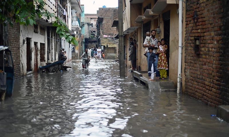 Rain, flood continues to wreak havoc in KP, Punjab
