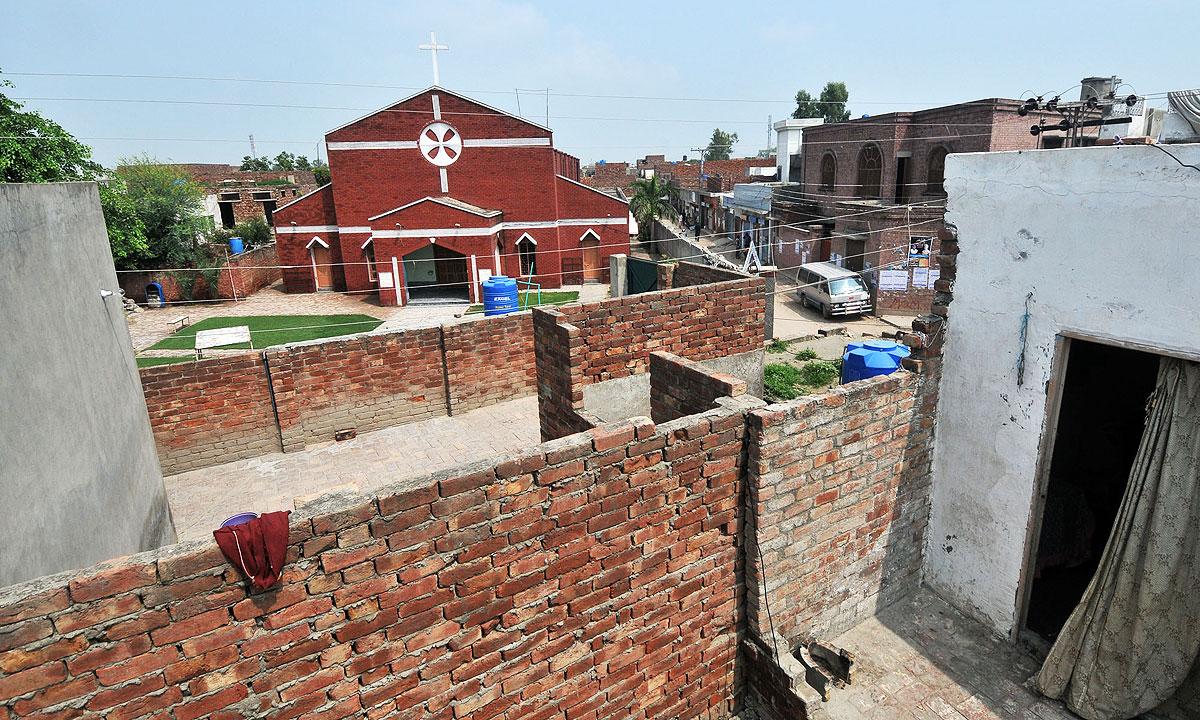 Saint John Catholic church in Youhanabad   White Star