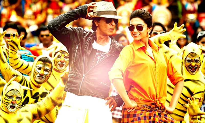 'Chennai Express' movie poster. — Courtesy Photo