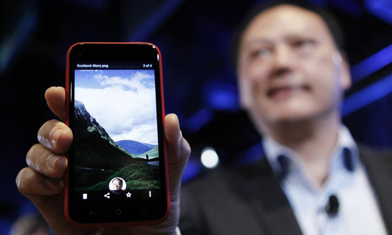 Picture shows HTC CEO Peter Chou. Is he the right man to lead the company forward? — Reuters Photo
