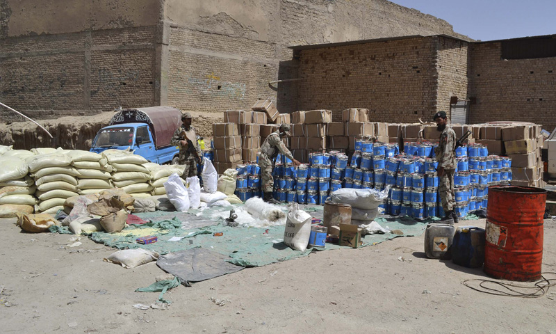 FC links Quetta 'bomb-making factory' to attacks on troops, Shias