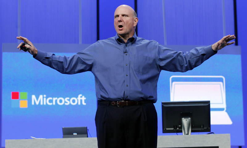 Ballmer's retirement signifies Microsoft's struggle to reinvent itself