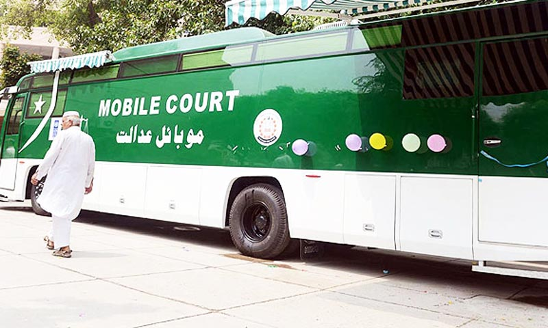 Mobile Court disposes of 30 cases on first day