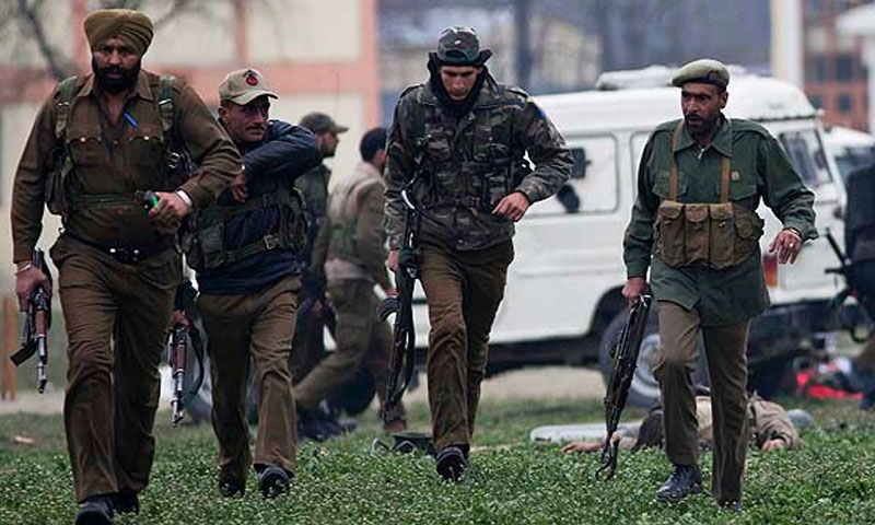 Five militants killed in northern Kashmir: Indian police