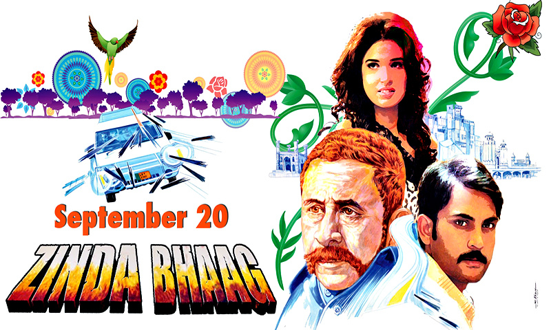 Zinda Bhaag poster.
