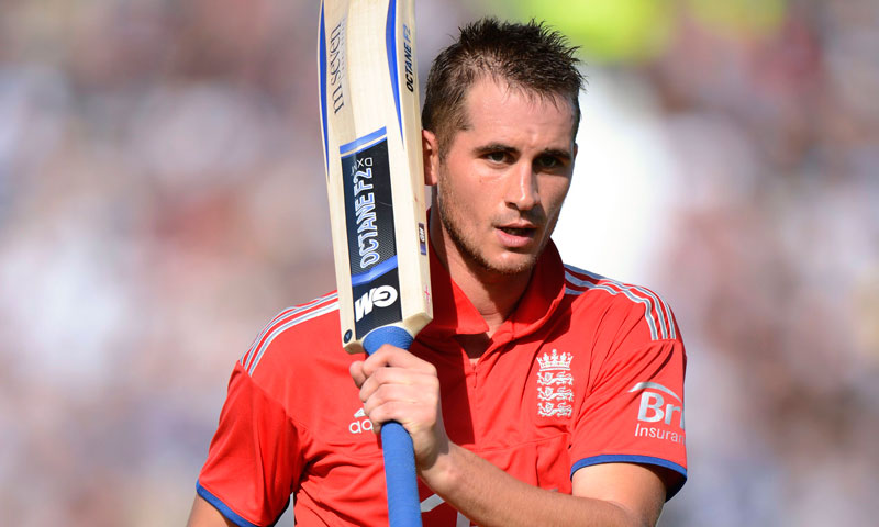 England's Alex Hales leaves the field after being dismissed during the second T20 international against Australia at the Riverside cricket ground in Chester-le-Street, near Durham, August 31, 2013. – Reuters Photo