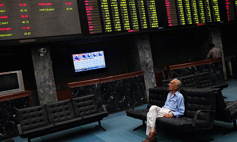 The Karachi Stock Exchange.—Reuters/File Photo