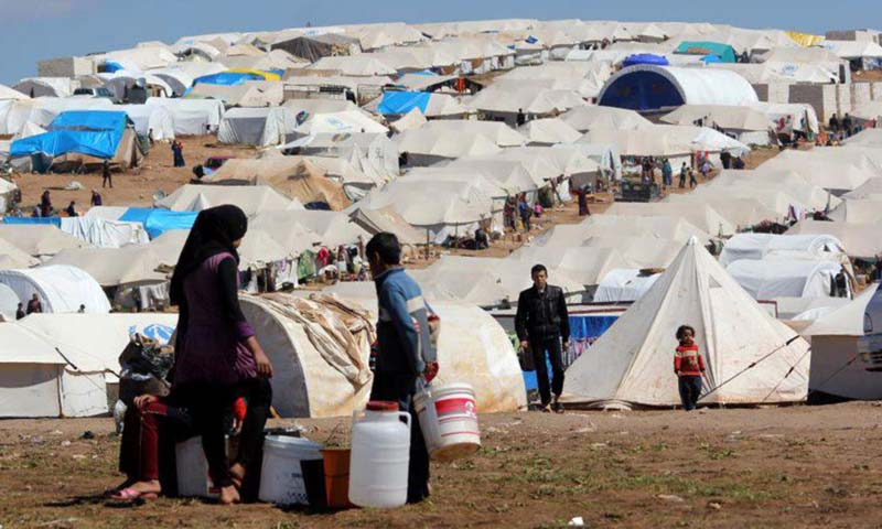 Number of Syrian refugees passes 2 million