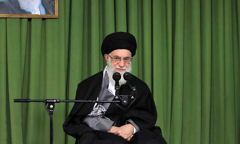Chemical weapons claim 'pretext' to hit Syria: Ayatollah Khamenei