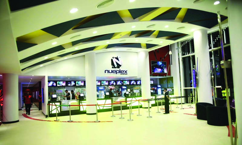 A multiplex in DHA Phase VIII seemed like an extreme case of thinking out-of-the-box. — File Photo