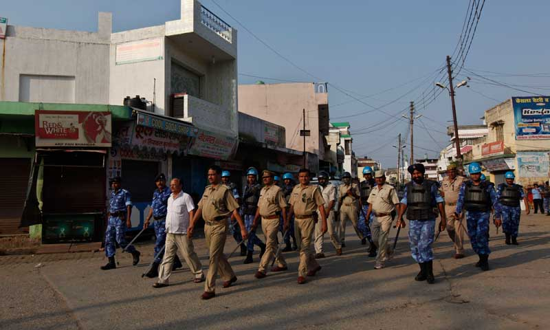 North India communal violence easing: police