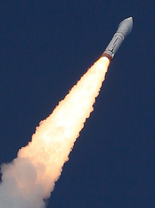 Japan hopes this new rocket will become competitive in the global space business. – Photo by AFP