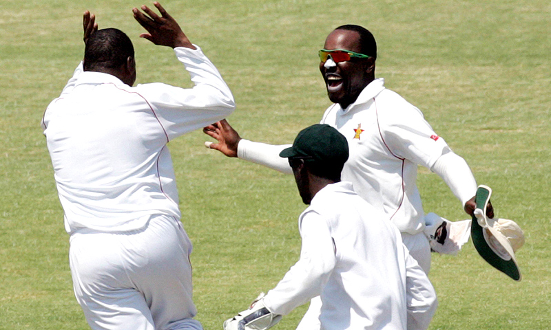 Zimbabwe's first Test win over Pakistan since 1998 meant the two sides shared the series 1-1.