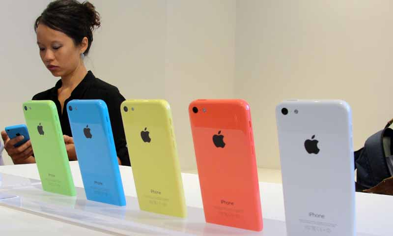 How iPhone 5S, 5C and older iPhones compare