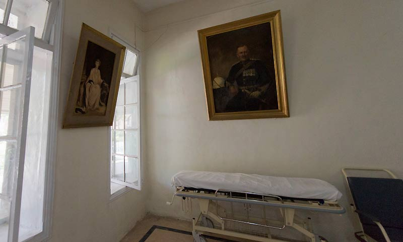 Noorah's desolate eyes look up to Lord and Lady Reading's paintings on the wall, as if expecting them to come out and help her. Under the pair's watchful eyes, Lady Reading Hospital has witnessed wars, invasions, bomb blasts and terrorist attacks.