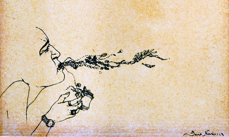 Sana Nasir's artwork