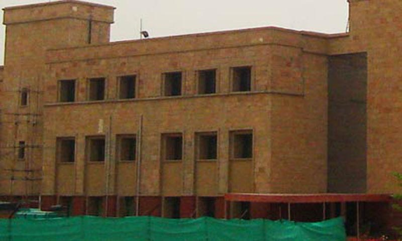 A faculty member who works in the Rawalpindi campus of the university said that top management of the university was liberal, but junior officers were very strict and they were running the university like a 'military academy'. — File Photo courtesy of NUST