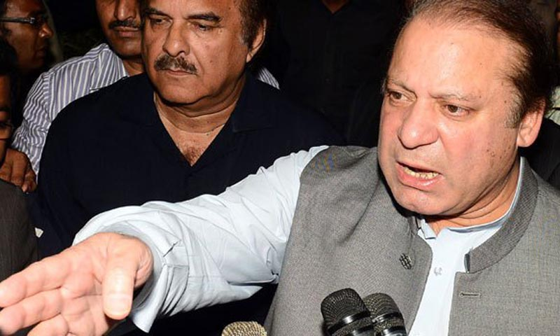 """""""Dialogue is the only way forward in normalising the situation between the two neighbouring countries,"""" he said while talking to reporters on his arrival at Heathrow airport here from New York after attending a session of the United Nations General Assembly. — File Photo"""