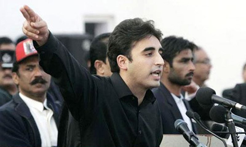 Bilawal Bhutto Zardari. — Reuters Photo