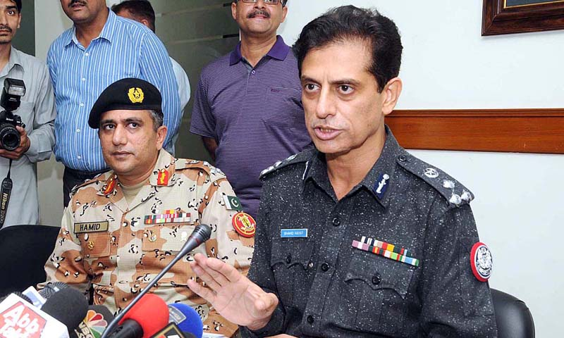 Additional Inspector General of Police (AIGP) Karachi Shahid Hayat. — File photo