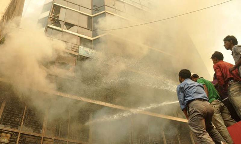 Bangladesh garment factory fire kills at least 10