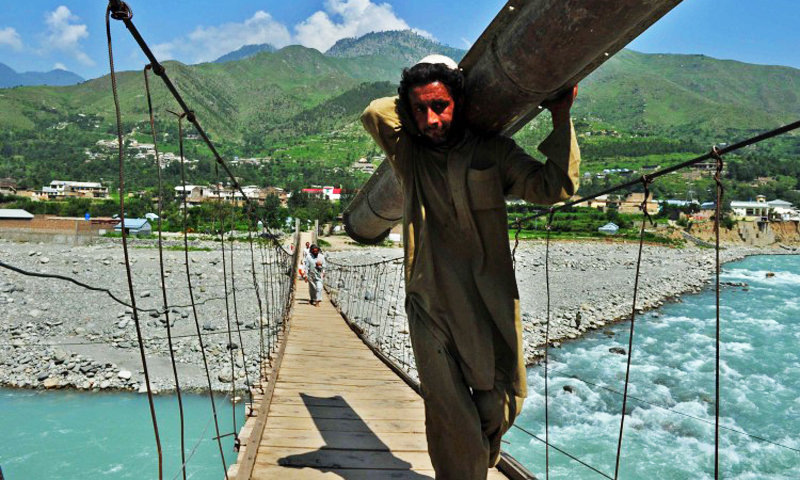 Swat River. -Photo by AFP