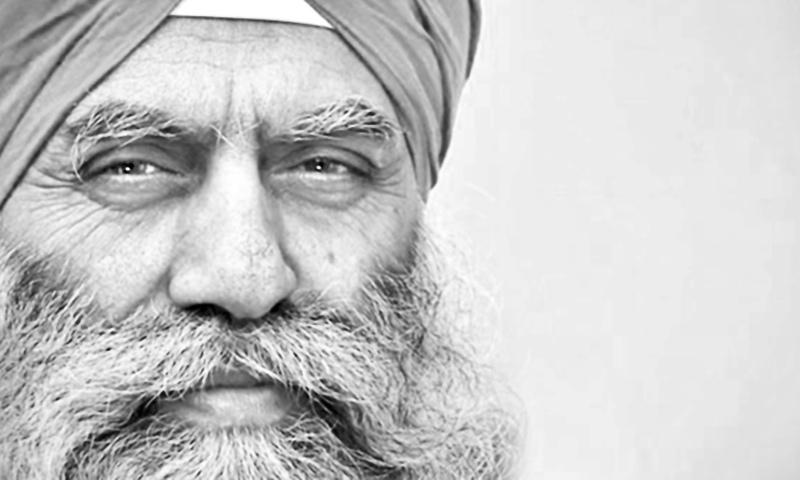 A sikh pilgrim- Photo by Humayun Memon