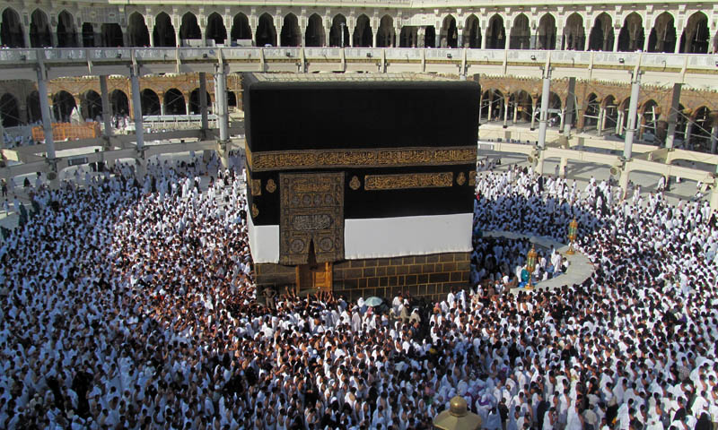 Two million pilgrims converge on Mina