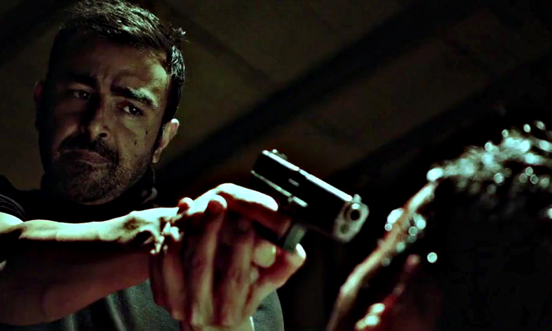 Waar is a bilingual Pakistani action film featuring an unconventional cast using live bombs, real gunship helicopters and other modern warfare techniques. — File photo