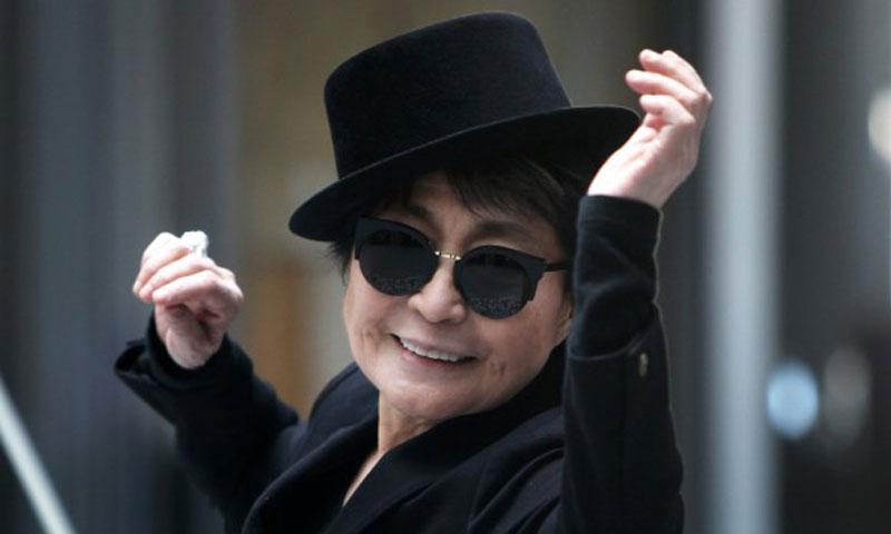 Yoko Ono. — Photo by AFP