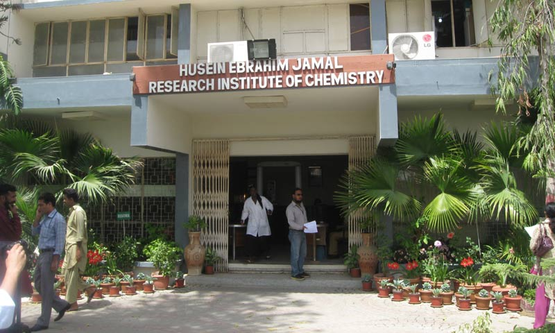 The Hussain Ebrahim Jamal Research Institute of Chemistry.  -Photo courtesy  Har Jiawei