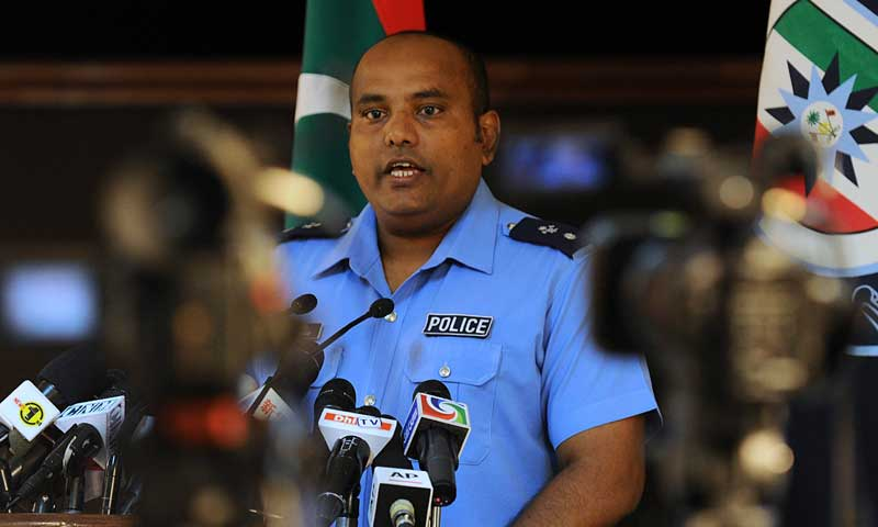 Police force postponement of Maldives presidential vote
