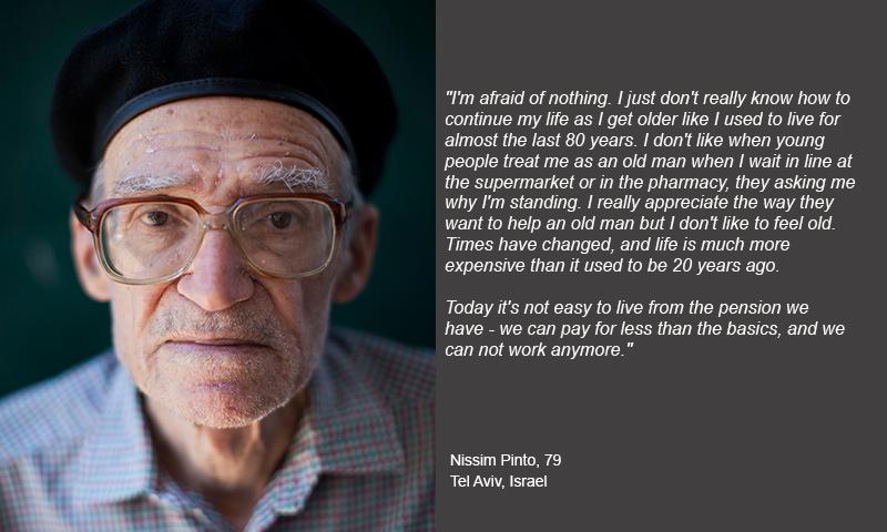 descriptive essay on old people