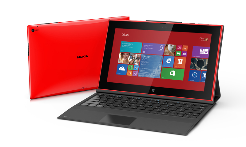 Nokia's first-ever Windows tablet - the Lumia 2520